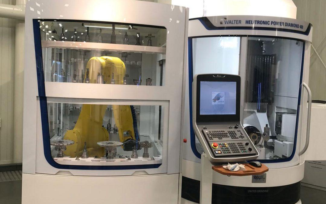Incorporamos la Walter Heliotronic Power Diamond 400 a nuestra fábrica de Sonseca