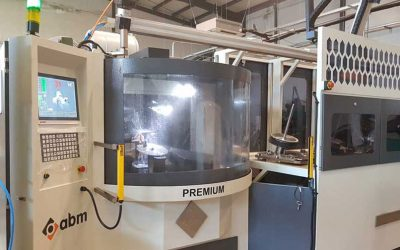 New ABM grinding robot in production at HECOMA®.