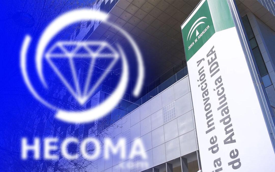 La Agencia IDEA (Agencia de Innovación y desarrollo de Andalucía) se interesa por el proyecto industrial de HECOMA®