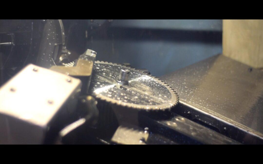 Afilado de discos robotizado